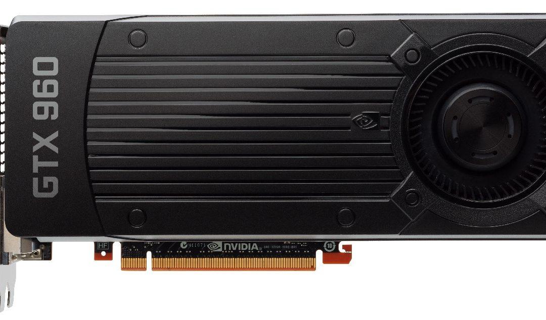 NVIDIA lanza la nueva GeForce GTX 960