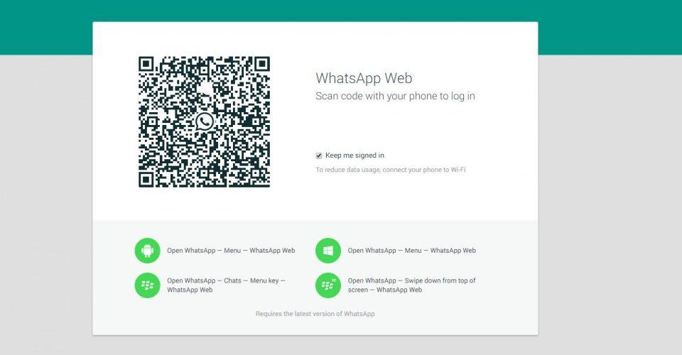 WhatsApp ya tiene cliente web