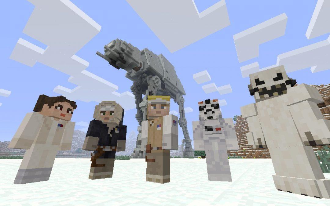 Nuevos Skins de Star Wars para Minecraft en Xbox One y Xbox 360