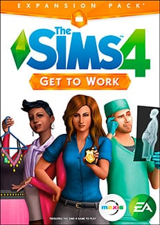 THE SIMS 4 GET TO WORK 04
