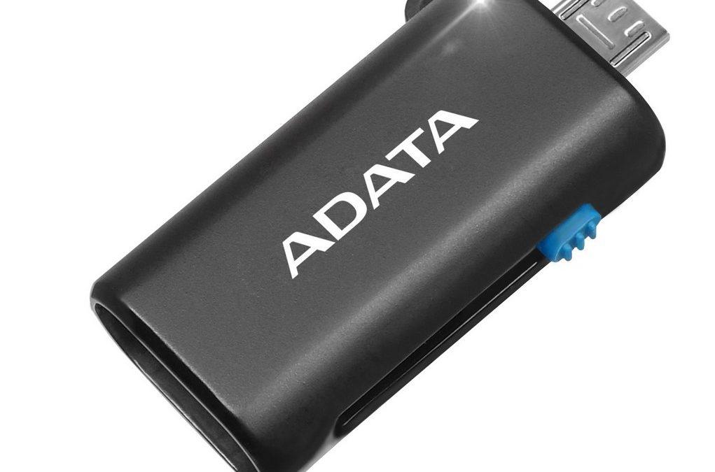 ADATA lanza su microLector OTG
