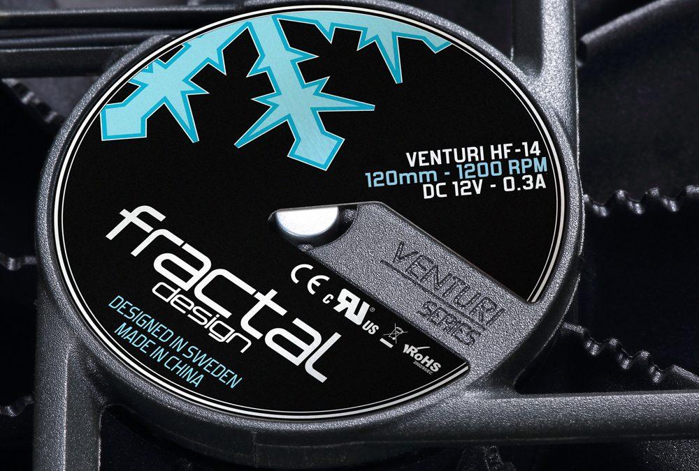Fractal Design presenta su nueva serie de ventiladores Venturi