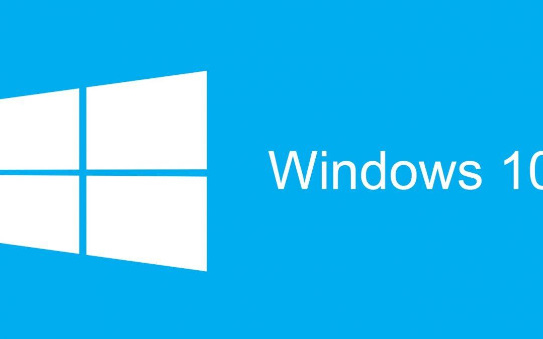 La actualización aniversario Windows 10 estará disponible a partir del 2 de agosto
