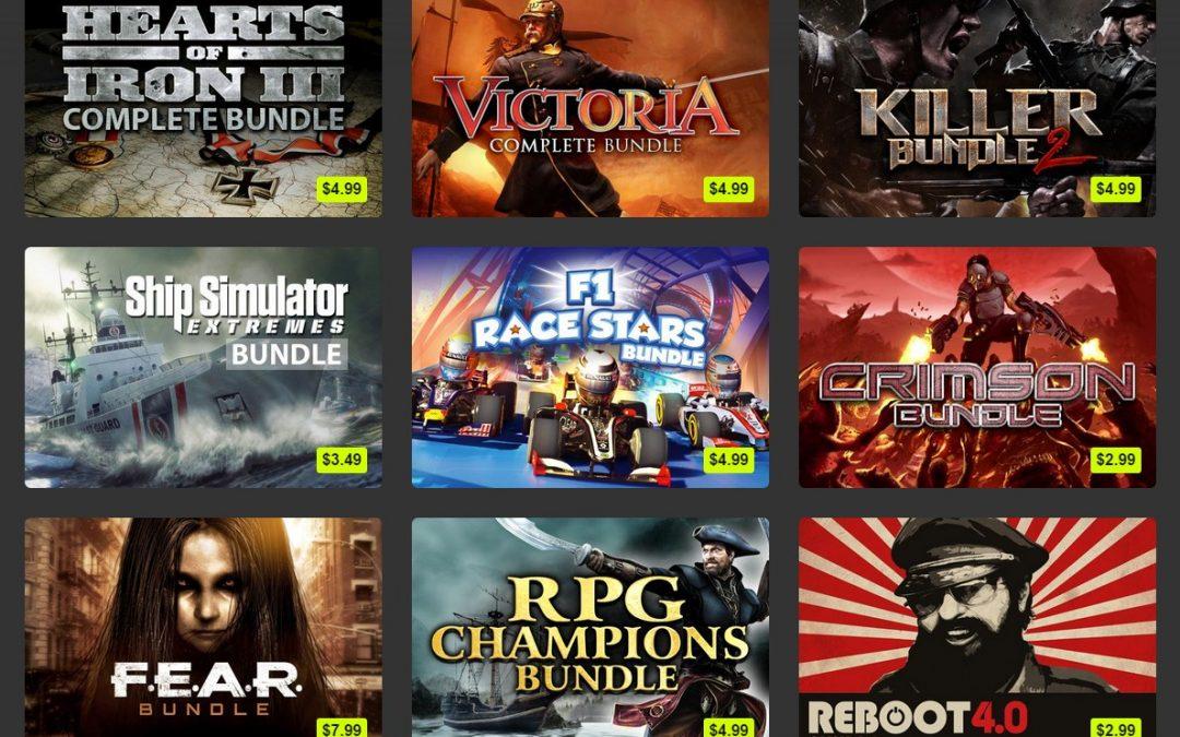 Ofertas de Game Bundle en Bundle Stars