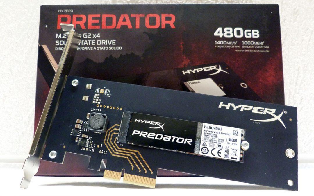 HyperX Predator PCIe SSD 480 GB
