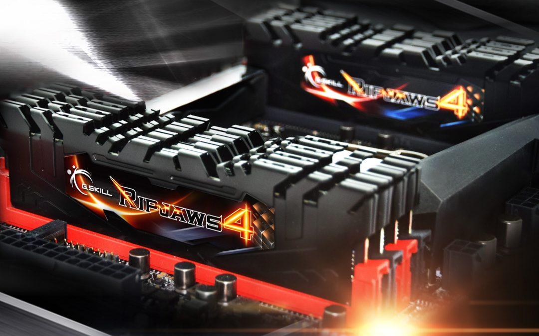 G.SKILL anuncia su kit DDR4 de 128 GB más rapido del mundo