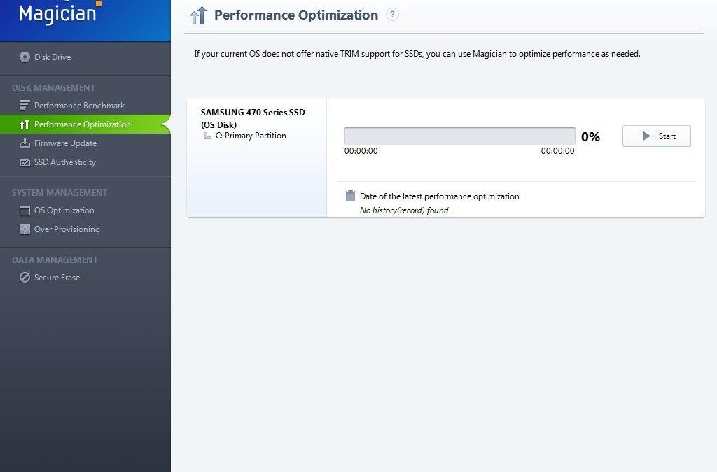 Nueva versión disponible de Samsung Magician para SSDs