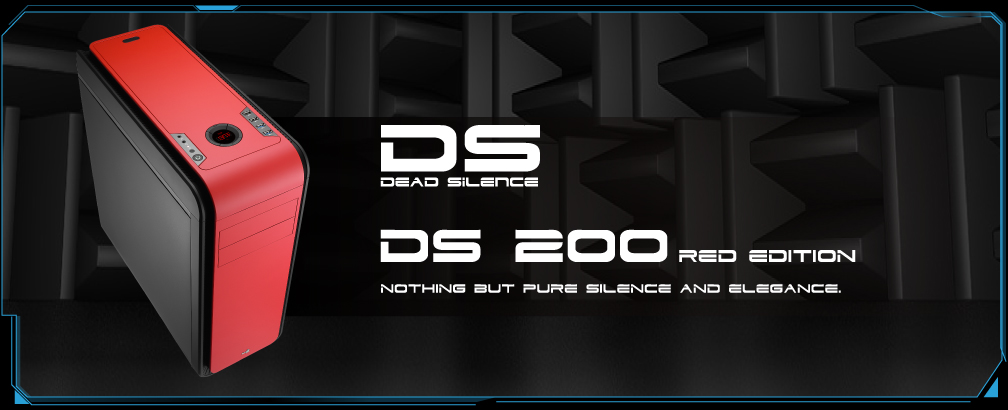 AeroCool presenta su gabinete DS-200 Window Red Edition