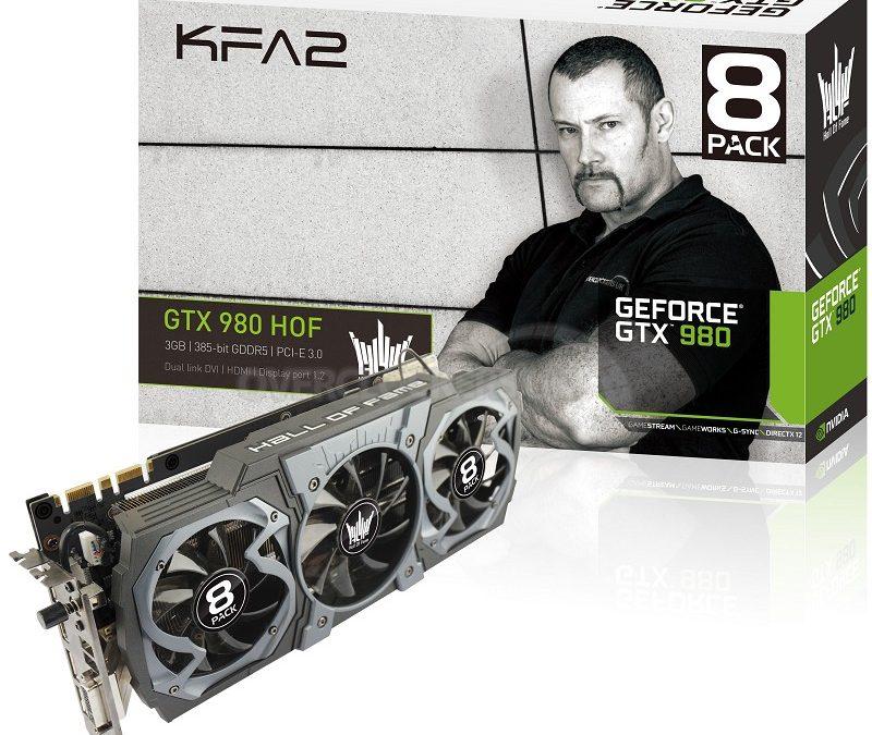 KFA2 anuncia su GeForce GTX 980 8Pack Edition