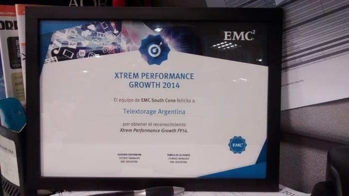 Premio para TelexTorage_Xtrem Performance Growth 2014