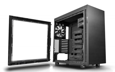 Thermaltake Suppressor F51 Mid-Tower Chassis has an enlarged sid panel window