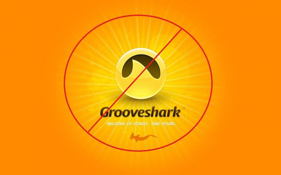 Grooveshark se dió de baja