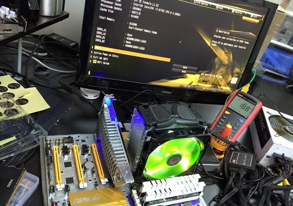 Intel Core i7-5775C alcanza los 5 GHz de overclock por aire