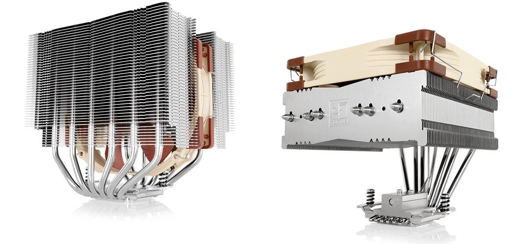 Noctua presenta dos nuevos coolers asimétricos de 140mm
