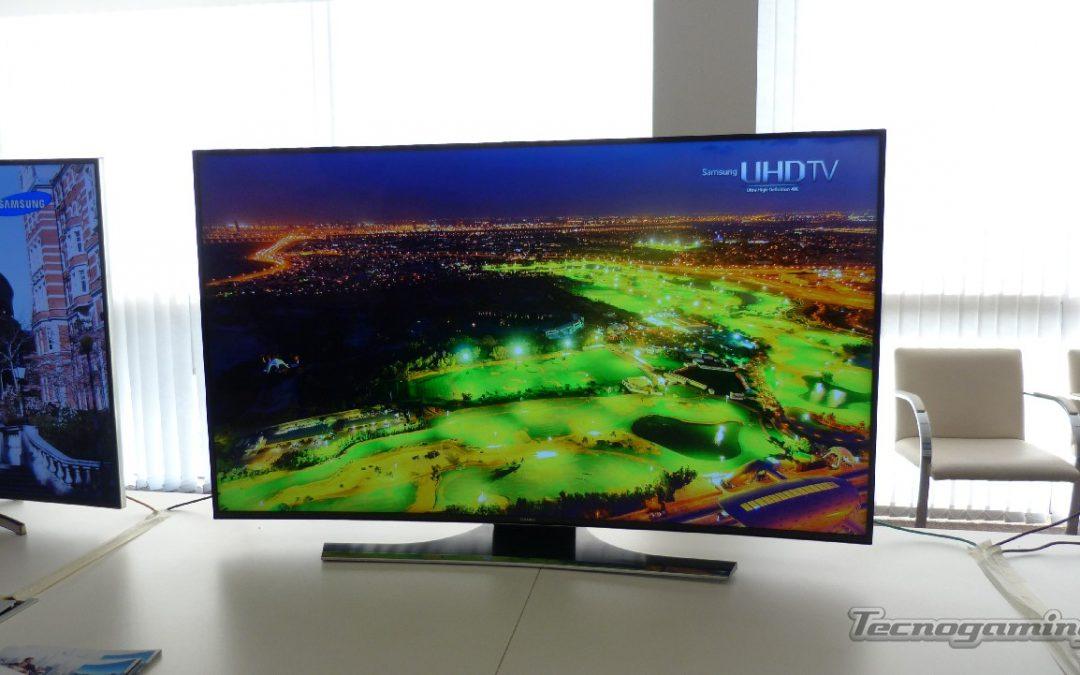 Samsung presentó su TV UHD curvo de 55 pulgadas