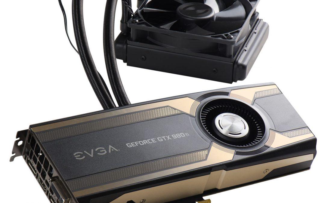 EVGA presenta toda su serie GeForce GTX 980 ti