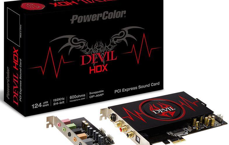 PowerColor anuncia su tarjeta de sonido Devil HDX