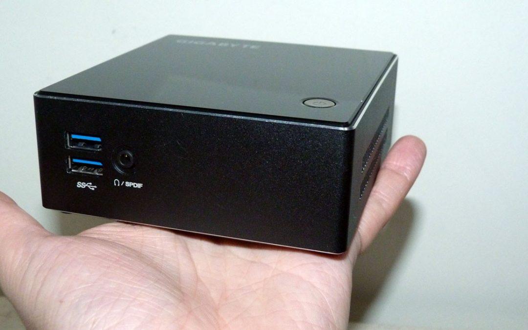 Gigabyte Brix S Mini PC
