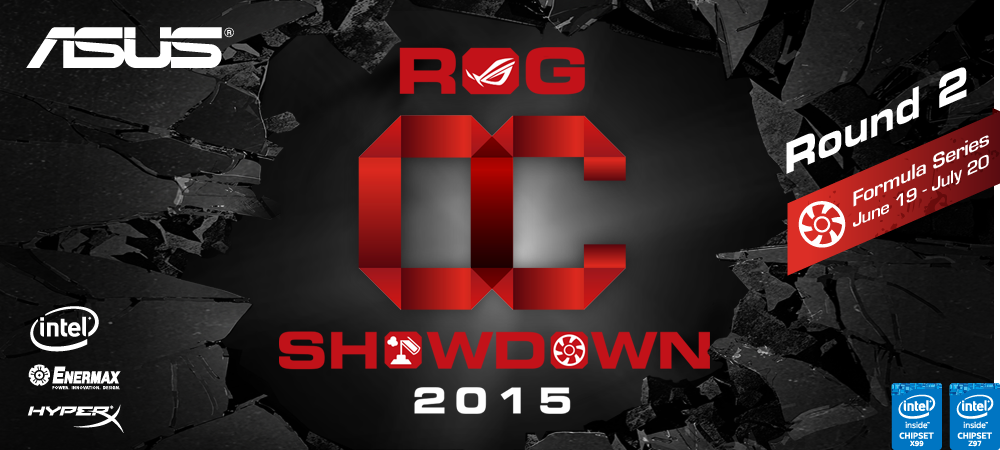 ASUS anuncia la competencia OC 2015 Formula Series R2