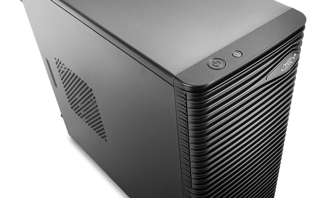 DeepCool introduce su gabinete micro-ATX Wave