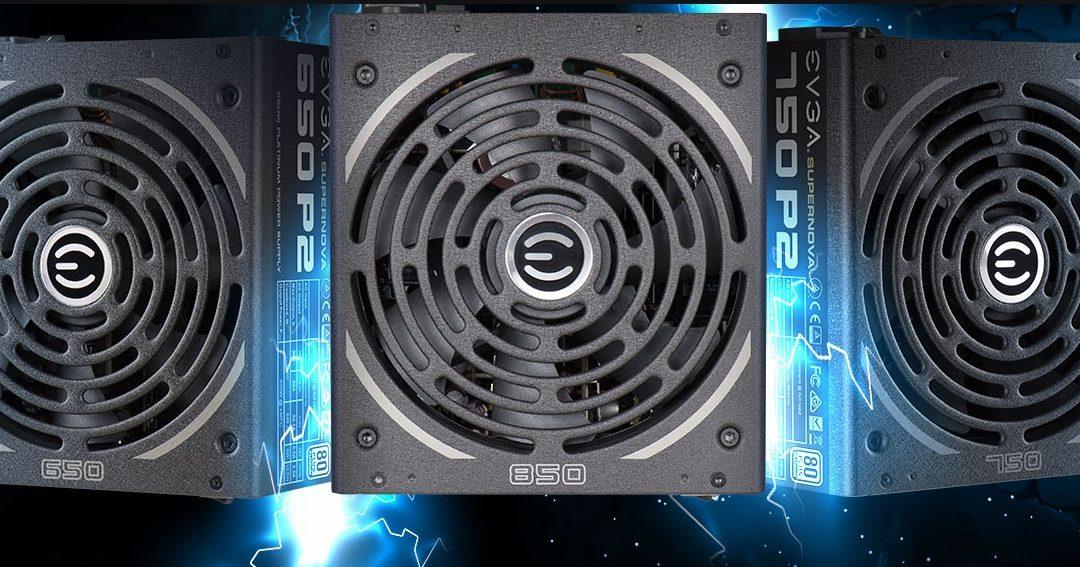EVGA presenta sus fuentes SuperNOVA P2 Series 80 Plus Platinum