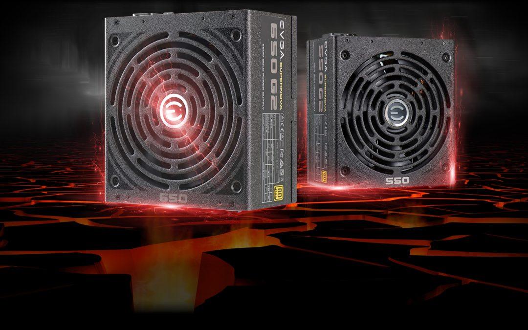 EVGA presenta sus fuentes SuperNOVA 650 G2 y 550 G2