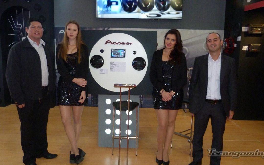 Pioneer presente en el 7° Salón Internacional del Automóvil de Bs As