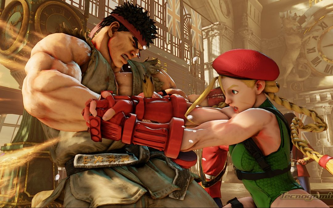 Capcom anuncia muchos detalles de Street Fighter V