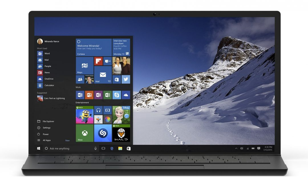 Microsoft ofrece herramienta de actualización Windows 10