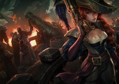 ASPECTO DE MISS FORTUNE