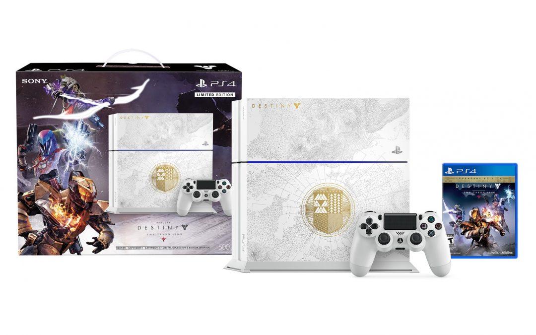 Nueva edición limitada de PS4 con Destiny: The Taken King