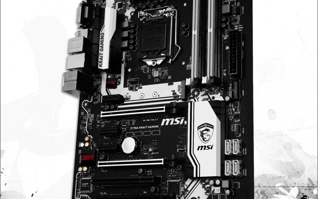 MSI revela su placa base Z170 Krait Gaming