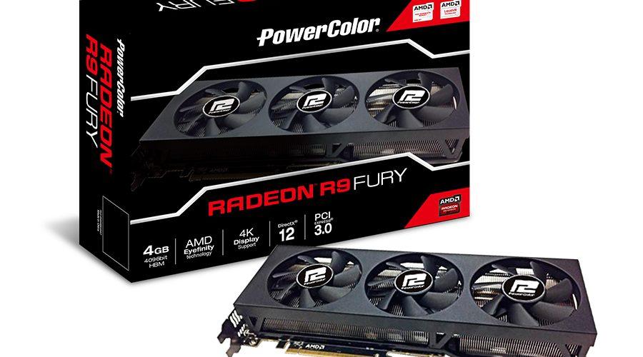 PowerColor anuncia su tarjeta Radeon R9 FURY de 4GB HBM