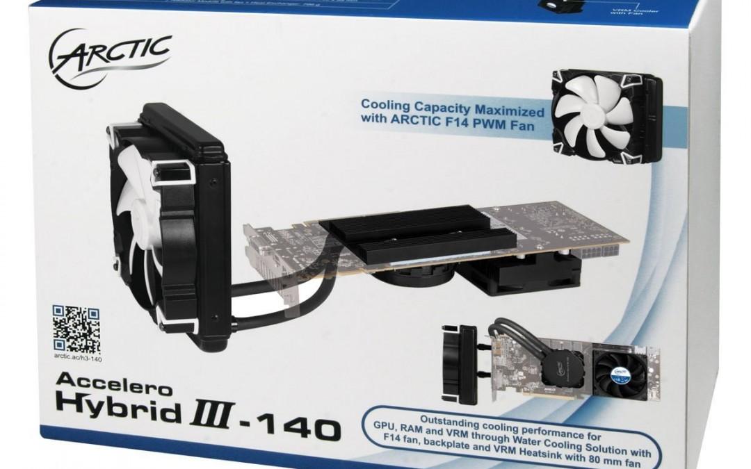 Arctic anuncia su cooler para VGAs Accelero Hybrid III-140