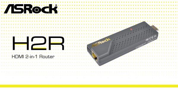 ASRock presenta su dispositivo H2R
