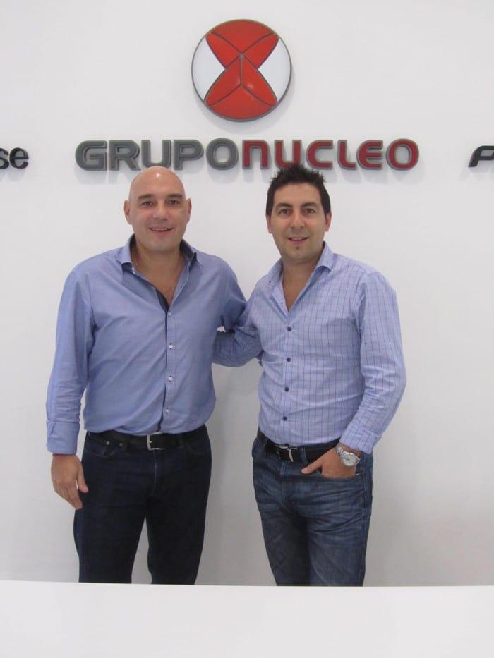 Luciano Huarte y Mauro Guerrero