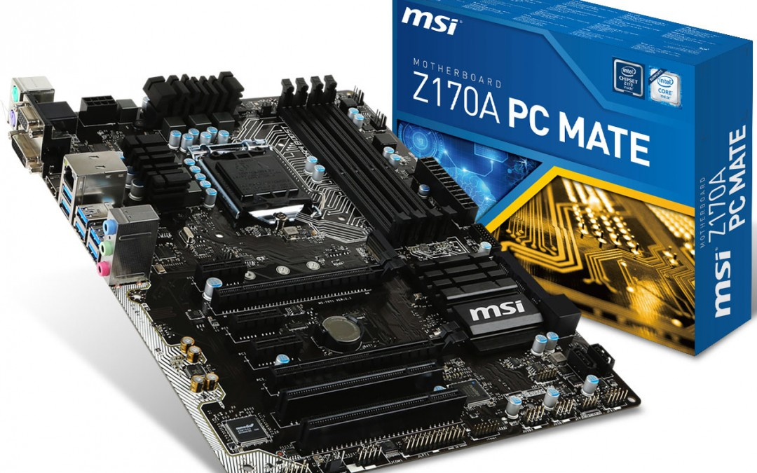 MSI revela su placa base Z170A PC Mate