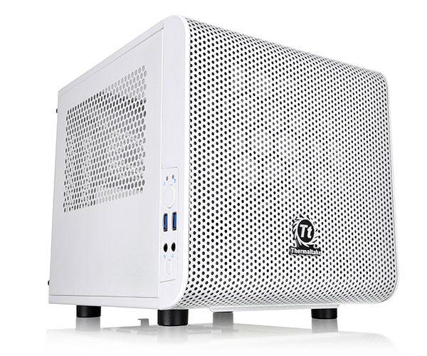 Thermaltake presenta gabinete Core V1 Snow Edition