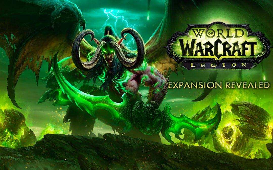 Blizzard presentó la nueva expansión de World of Warcraft: Legion