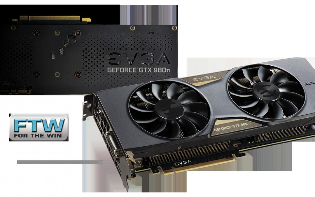 EVGA presenta su GeForce GTX 980 Ti FTW ACX 2.0+