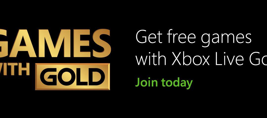 Xbox Live Gold presenta los juegos gratuitos de Abril