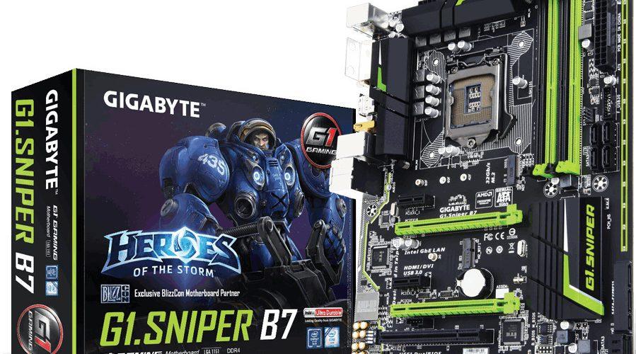 Nueva placa base G1.Sniper B7 de Gigabyte