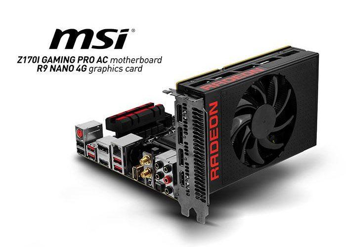 MSI lanza su tarjeta gráfica R9 Nano 4G