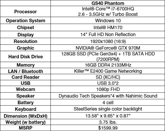 MSI_GS40_Phantom_specs