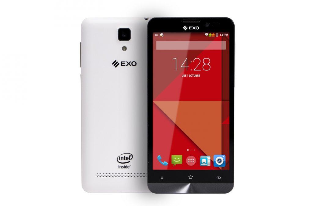 EXO presenta su primer Smartphone