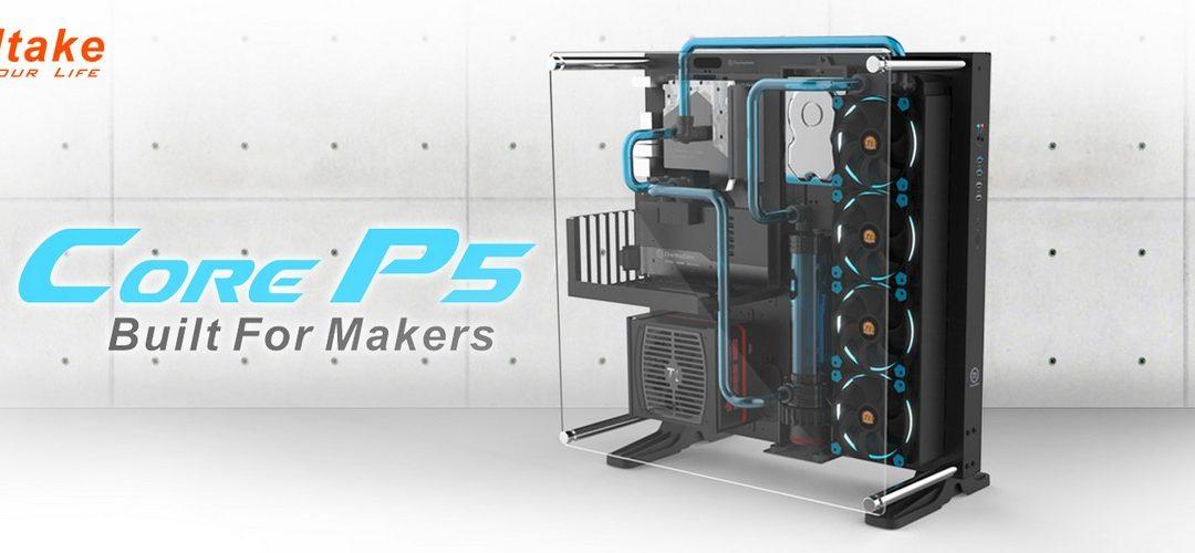 Thermaltake presenta su gabinete Core P5 ATX