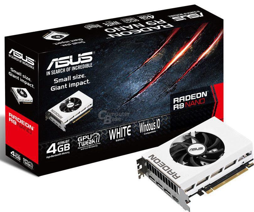 ASUS revela una edición limitada de la Radeon R9 Nano