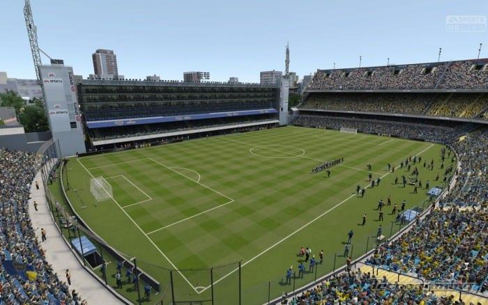La atmósfera de los partidos de fútbol se encuentra mucho más detallada y emotiva.