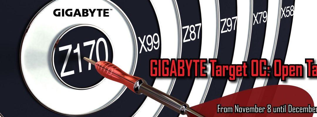 Gigabyte presente en nuevo Torneo de Overclocking