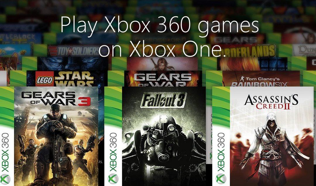 Mas juegos se suman a la retrocompatibilidad de Xbox One